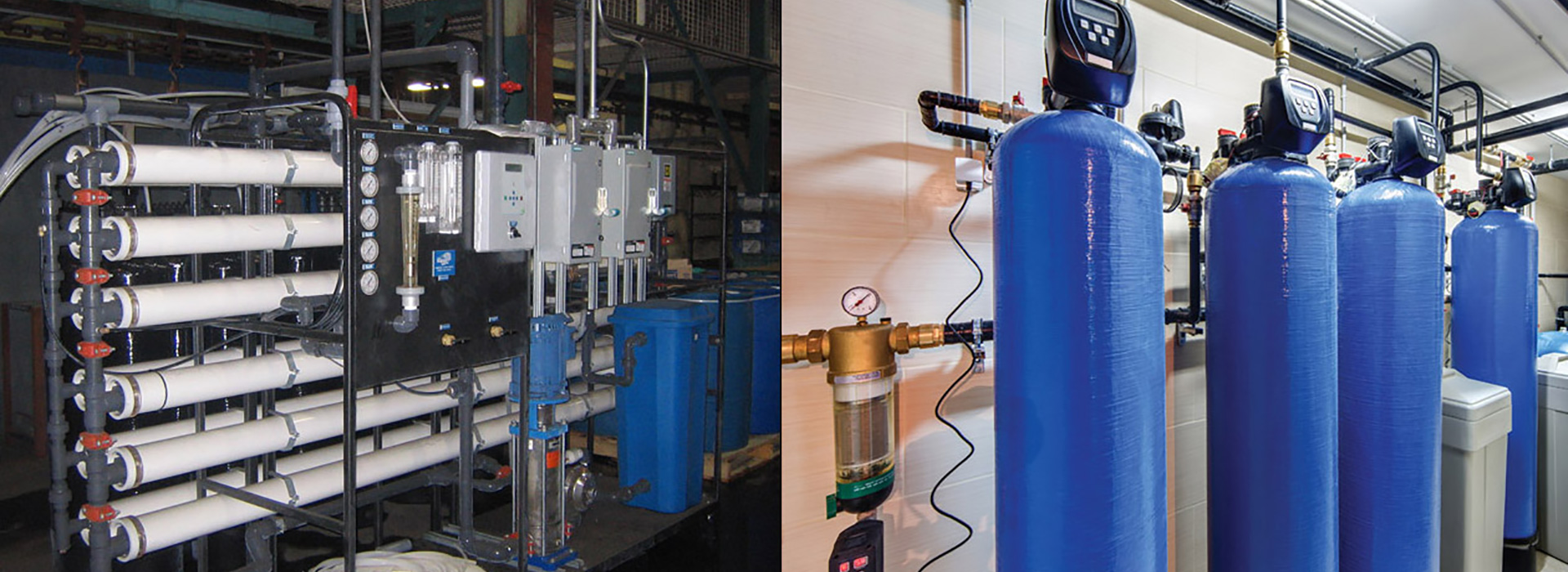 commercial / industrial water treatment